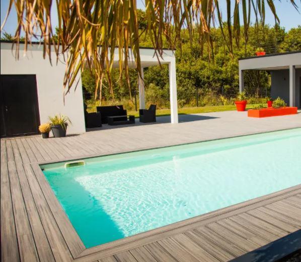 Terrasse bois sur plot ou piloti, terrasse béton sur dalle, vide sanitaire avec béton décoratif, ciré ou carrelage par votre artisan créateur 4