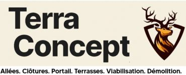 Terrassier Demolisseur sur La Ferté-Alais 91590 pour raccordements et viabilisation et extérieurs