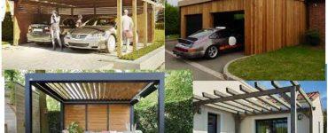 fabrication, la pose et l'installation de carport, garage, annexe et pergola en bois ou en acier ou aluminium